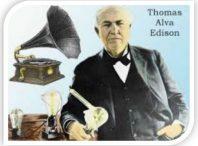 تحقیق زندگینامه توماس ادیسون