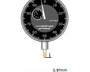 نرم افزار آموزش عمق سنج اندازه گیری با دقت ۰٫۰۱ میلی متری
