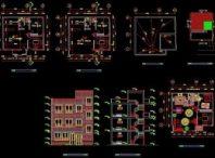 برنامه زمانبندی ساختمان اسکلت بتنی ۳ طبقه – ۱۳ ماهه (۲ طبقه + همکف)