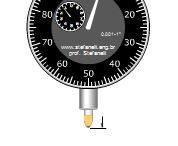 نرم افزار آموزش عمق سنج اندازه گیری با دقت ۰٫۰۰۱ میلی متری