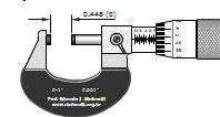 نرم افزار آموزش میکرومتر ۰٫۱ اینچی با دقت ۰٫۰۰۱
