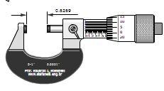 نرم افزار آموزش میکرومتر ۰٫۱ اینچی با دقت ۰٫۰۰۰۱