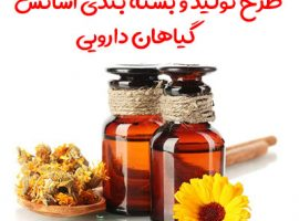 طرح تولید و بسته بندی اسانس گیاهان دارویی
