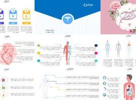 قالب پاورپوینت انیمیشن پزشکی (با کیفیت عالی و شیک)