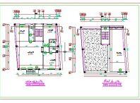 پلان معماری (یک طبقه با بهار خواب) به ابعاد ۱۲٫۰۴*۱۳
